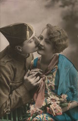 Soldier Kissing Girl
