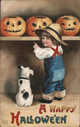 A Happy Hallowe'en Postcard