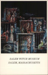 Salem Witch Museum, Witches in Jail, Salem, Massachusetts