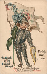For my true love The knight of the Forget-me-not