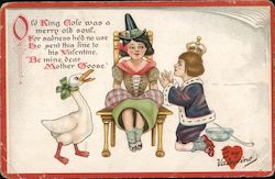 Mother Goose, Queen, Old King Cole