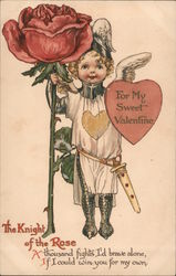 To my sweet Valentine The knight of the rose