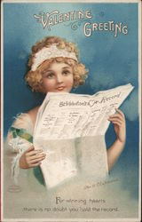 Cupid reading a newspaper