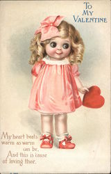 Little Girl Offers Heart, To My Valentine