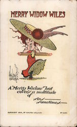 Merry Widow Wiles - A 'Merry Widow' hat covers a multitude of sins - sometimes.-