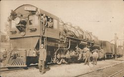 "Southern Pacific #4002 and Crew ""Big Engine"""