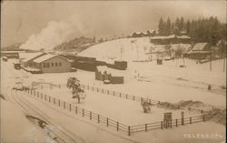 Colfax Fruit Growers in Winter Postcard