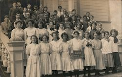 Class of 1910, Seventh Grade, San Mateo Grammar School