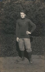 Football Player, St. Matthew's Military School