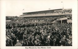 Bay Meadows Race Track San Mateo California