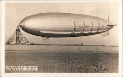 The Landing of USS Macon - Moffett Field 10-15-1933
