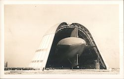 Blimp in Hanger,  Moffett Field