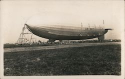 U.S. Navy Blimp, USS Macon or Akron