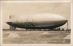 USS Akron at Moffett Field June 5, 1932