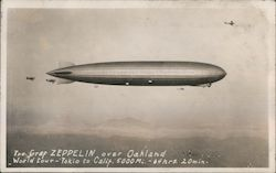 The Gref Zeppelin over Oakland