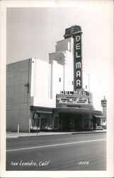 Delmar Theater Postcard