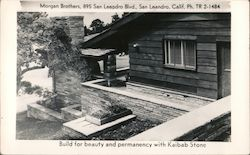 Morgan Brothers - Build for Beauty and Permanency with Kaibab Stone Postcard
