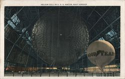 Helium Cell in U.S.S. Macon Navy Airship