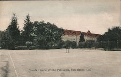 Tennis Courts of the Peninsula