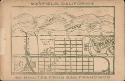 Rare Map of Mayfield