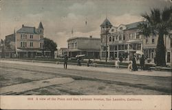 A View of the Plaza and San Lorenzo Avenue Postcard