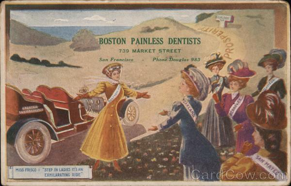 Boston Painless Dentists San Francisco California
