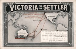 Victoria for the Settler Trade Card