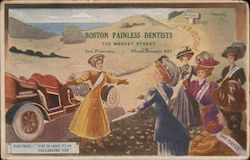 Boston Painless Dentists Postcard