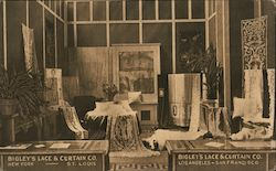 Bigley's Lace & Curtain Company Exhibit