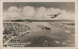The Clipper Ship Soars over San Francisco Bay