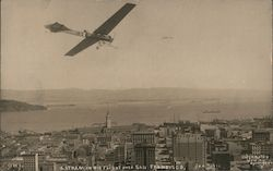 Herbert Latham in his Flight over the City