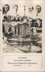 1920 Democratic National Convention Postcard
