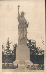 Goddess Of Liberty Band Stand Allied War Exposition S.F.