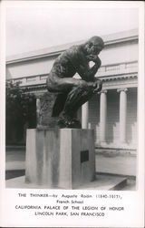 The Thinker Statue, California Palace of the Legion of Honor, Lincoln Park