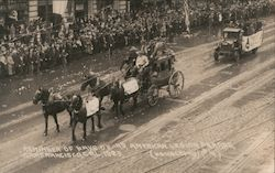 1923 Reminder of days of 49, American Legion Parade