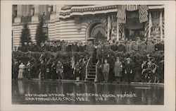 Reviewing Stand for American Legion Parade 1923