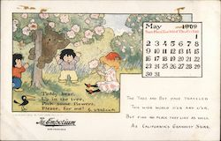 May 1909 The Emporium Calendar