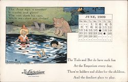 June 1909 The Emporium Calendar