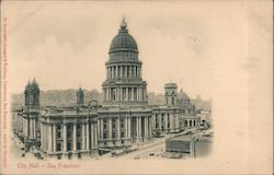 City Hall - San Francisco Postcard