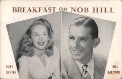 KSFO Breakfast on Nob Hill Postcard