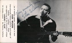 Stan Wilson, at Hungry Club, folk musician Hand Signed Autograph