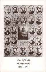 California Governors 1849 - 1911