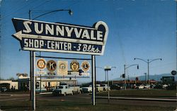 Sunnyvale Shop Center Sign