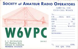 Society of Amateur Radio Operators W6VPC