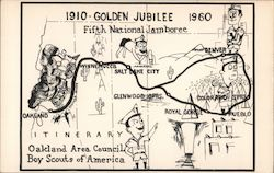 Golden Jubilee Fifth National Jamboree 1910-1960. Oakland Area Council Boy Scouts of America