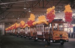 Cable Car Charters San Francisco's Original Cable Cars Motorized Cable Cars for Charter 2830 Geary Blvd.