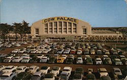 Cow Palace - Exterior View with Parking Lot