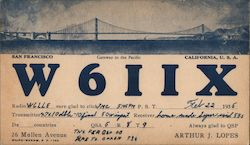 W611X Gateway to the Pacific San Francisco California, U.S.A.