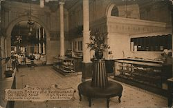 The Original Swain's Bakery and Restaurant Postcard