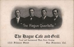 The Hague Cafe and Grill Postcard